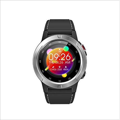 GPS Reloj Inteligente,IP67 Impermeable Dormir Pulsera De Actividad Reloj De Contador De Pasos Pressione Sanguigna Pulsómetros Monitor para iOS Y Android Smart Watche Gris 1.3inch