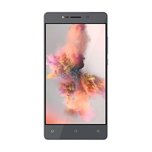 Echo Holi Smartphone débloqué 4G (Ecran : 5.5 pouces - 8 Go - Double Micro-SIM - Android) Gris foncé