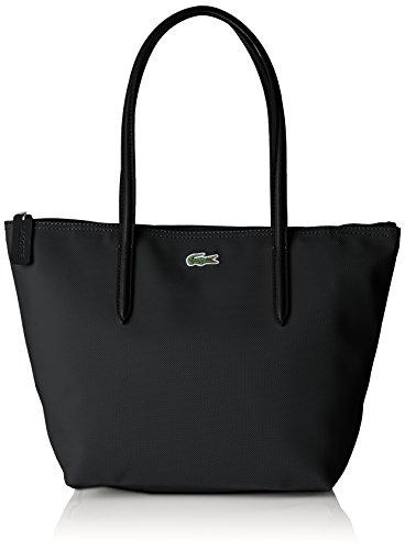 Lacoste NF2037, Sac Bandouliere Femme, Noir (Black), 14.5x24.5x23.5 cm (W x H x L)