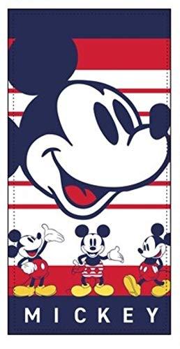 TEXTIL TARRAGO Toalla de Playa Mickey Mouse 70x140 cm 100% Polyester ET4210-1