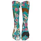 Rundafuwu American Baseball Best High Performance Comfortable Socks for Men & Women Novelty 50CM