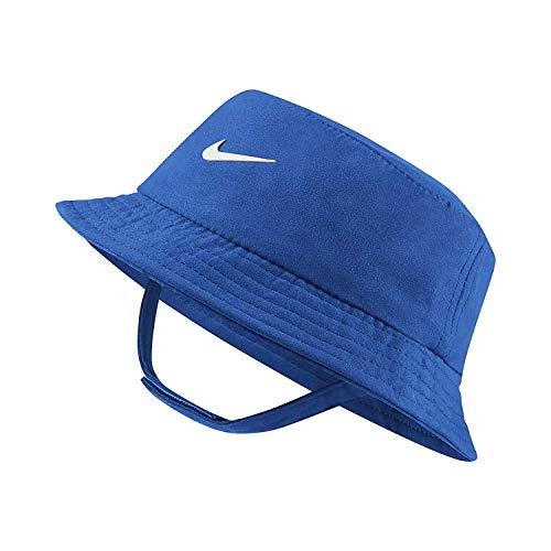 Nike Dry Infant/Toddler Girls' Bucket Hat (Game Royal (7A2682-U89) / White, 12-24 Months)