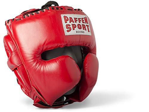 Paffen Sport PRO Mexican Kopfschutz für das Sparring; rot; GR: S/M