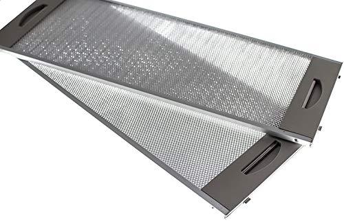 Filtro metálico para campana extractora ,TEKA CNL-2000 (19x50cm) 2 UNIDADES