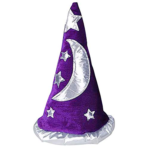 Mens Womens Child Renaissance Costume Merlin Wizard Hat