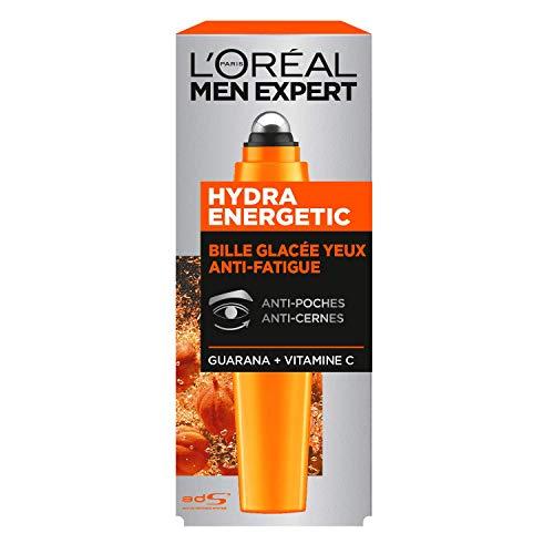 L'Oreal Men Expert Hydra Energético Roll-on, Ojos Corrector, 10 ml