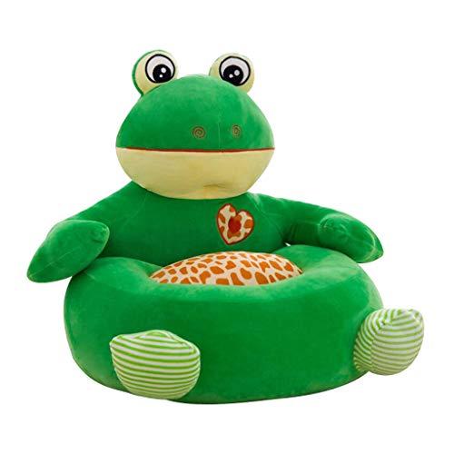 Niedliche Tiere Sitzsackhülle Sitzsack Bezug Hülle ohne Füllung für Kinder - Frosch