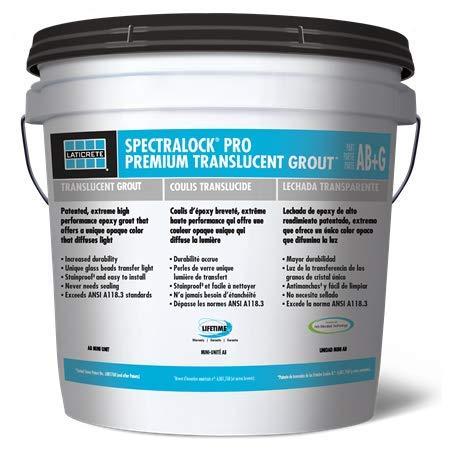 LATICRETE SPECTRALOCK PRO Premium Translucent Grout Mini Kit