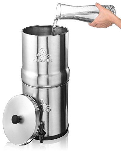 Alexapure Pro ProPur Systems /& Beverage Dispensers with 5//8 Openings Fits BERKEY Systems Tru-Steel Stainless Steel Spigot