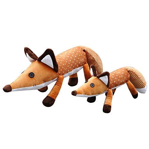 OELPAN Spielzeug 1 stück 45/60 cm Film Le Petit Prince Der kleine Prinz Fuchs Teldu Puppen Weiche Puppen Füchse Spielzeug Gefüllte Tiere Bildung Spielzeug Für Baby (Höhe:...