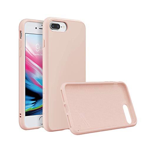 RhinoShield Coque Compatible avec [iPhone 7 Plus / 8 Plus] | SolidSuit - Housse Fine avec Technologie Absorption des Chocs & Finition Premium - Rose Classic