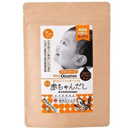 赤ちゃんだし 7か月から 無添加 食塩不使用 離乳食だし 乳児用規格適用食品