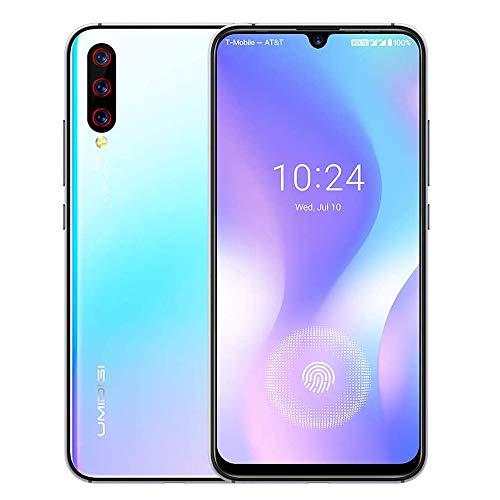Unlocked Smartphones 2019, UMIDIGI X in-Screen Fingerprint Dual SIM 4G Budget Phone, 48MP Triple Camera 6.35'' AMOLED Full Screen 4150mAh NFC RAM 4G ROM 128GB Fast Charging.