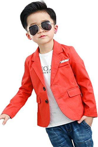 Boy's Fashion Blazers Casual Jacket…