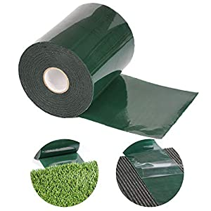 "SunVilla 6""x33 Double-Sided Artificial Grass Green Joining Fixing Turf Self Adhesive Lawn Carpet Seaming Tape-6 in x 33 FT (15 cm X 10 m)"