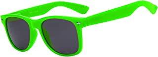 80's Style Classic Vintage Sunglasses Colored Frame Uv...