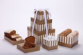 Delicious Tower of Gourmet Vegan Breads and Cookies