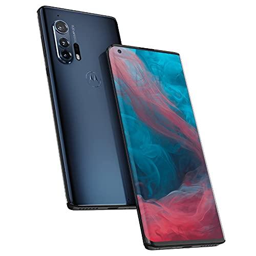 "Motorola Edge+ Plus (256GB, 12GB) 6.7"" 90Hz OLED, Snapdragon 865, 108MP 6K Camera, Single SIM Global 4G LTE GSM Unlocked (T-Mobile, AT&T, Metro) International Model XT2061-3 (Baltic Gray) (Renewed)"