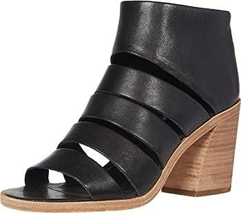 Frye Women s Tash Cut Out Bootie Heeled Sandal Black 8.5 M US