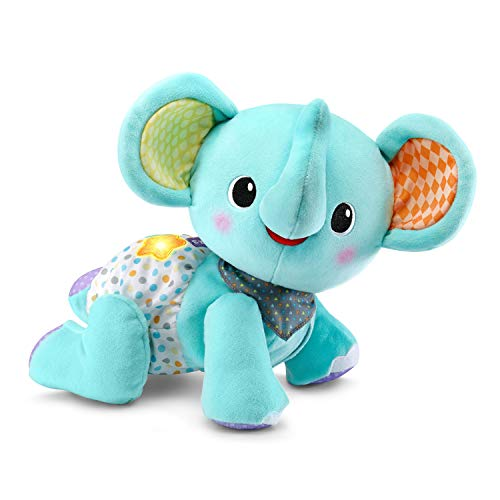 VTech Explore and Crawl Elephant, Teal