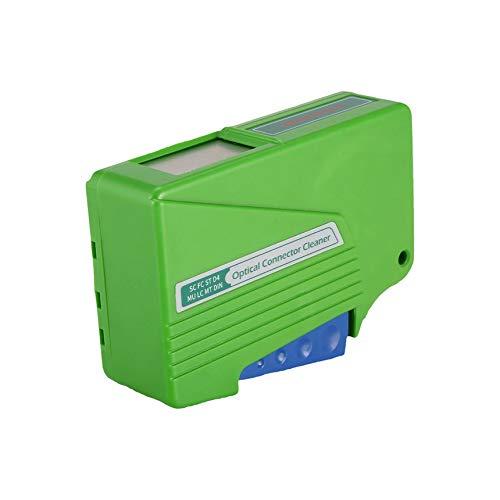 Glasfaser-Reinigungs Box Optical Fiber Connector-Reiniger 500 mal Cassette Werkzeug für SC FC ST D4 MU LC MT DIN Adapter
