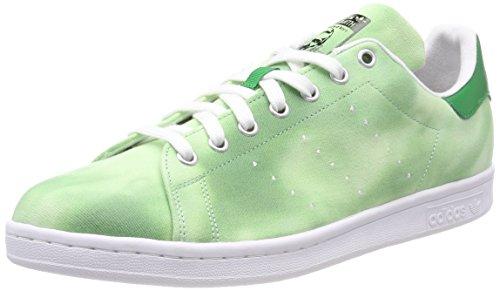 Adidas PW Hu Holi Stan Smith, Zapatillas de Deporte Hombre, Blanco (Ftwbla/Ftwbla/Verde 000), 40 2/3 EU