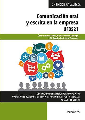 UF0521 - Comunicación oral y escrita en la empresa Microsoft Office 2016