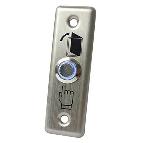 IPOTCH botón de liberación de la Puerta del Interruptor de Metal Inoxidable Panel de Inicio Parte del Panel de Interruptor