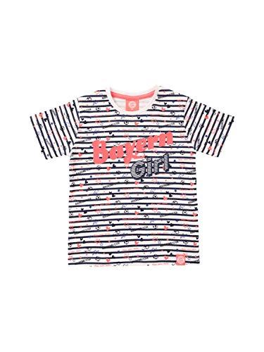 FC Bayern München T-Shirt Bayern Girl Baby weiß/rosa, 74/80