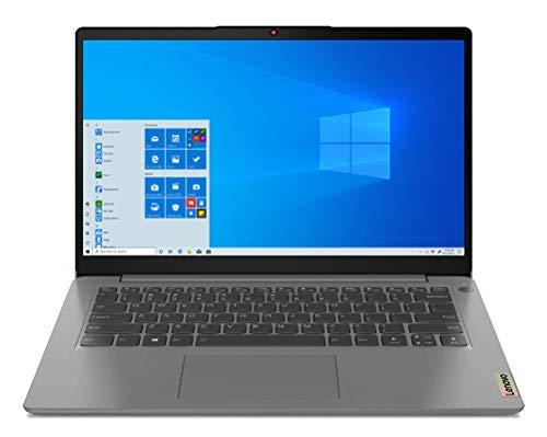 "Lenovo IdeaPad 3 - Ordenador Portátil 14"" FullHD (Intel Core i3-1115G4, 8GB RAM, 256GB SSD, Intel UHD Graphics, Windows 10 Home), Color Gris - Teclado QWERTY Español"