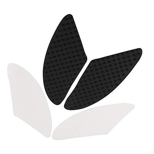 Motorrad-Tank Pads, Universal Motorrad-Seitengasknie Grip Schutz Anti-Rutsch-Gummi-Abziehbild-Aufkleber