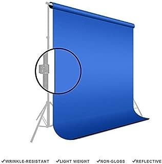 LimoStudio Photography 6' X 9' Backdrop Blue Chromakey Muslin Photo Video Background, AGG169V2
