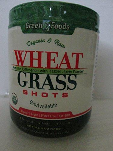 Green Foods Wheat Grass Shots Og1 5.3 Fz