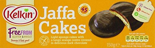 Kelkin Gluten Free Jaffa Cakes (150g) - Pack of 2