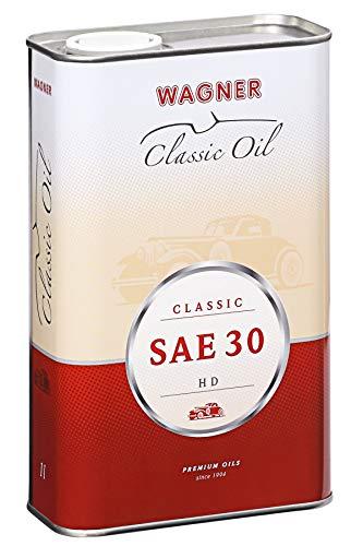 WAGNER Einbereichsmotoröl Classic HD SAE 30 - 330005 - 5 Liter