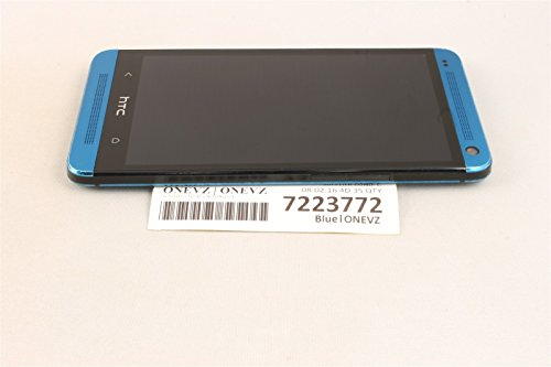 HTC One M7 32GB Smartphone Vivid Blue (blau) wie NEU OVP (11,93 cm (4.7 Zoll), Super LCD3 Touchscreen, 2GB RAM, Beats Audio) Handy