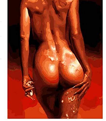 Rompecabezas de 1000 piezas para adultos Chica desnuda La sombra desnuda Arte ilustrado Decoración moderna del dormitorio Juguetes de madera Juegos divertidos Gran regalo educativo para niños