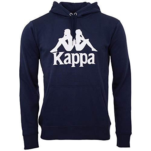 Kappa 705322-821_XL Maglia di Tuta, Blu Navy, Uomo