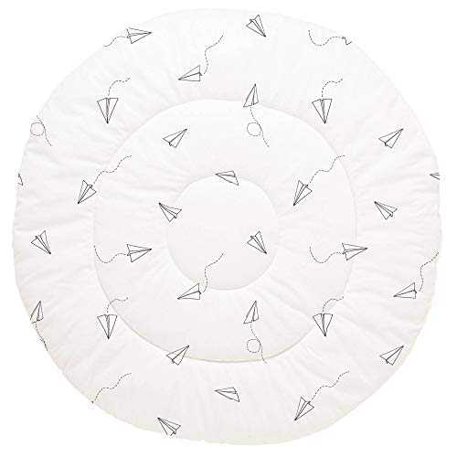 Find Bargain Carousel Designs Onyx Paper Airplanes Baby Play Mat