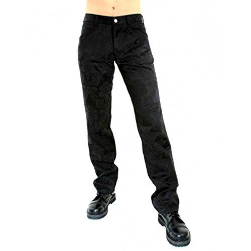 Aderlass Jeans Hose - Brocade Schwarz (34)