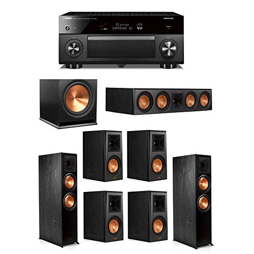 Buy Discount Klipsch 7.1.2 System - 2 RP-8060FA Speakers,1 RP-504C,4 RP-500M Speakers,1 R-115SW,1 RX...