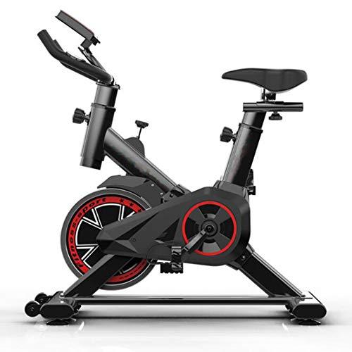 QZAA-Bicicleta Elíptica de Bicicleta Estática de Músculo Abdominal Ultra Silencioso con Sistema de Transmisión por Correa Bicicleta Rápida Equipo de para El Hogar Entrenador Aeróbico