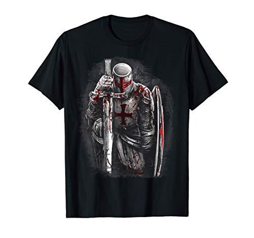 Cristiano Knight Templar, Templarios y Cruzado Medieval Camiseta