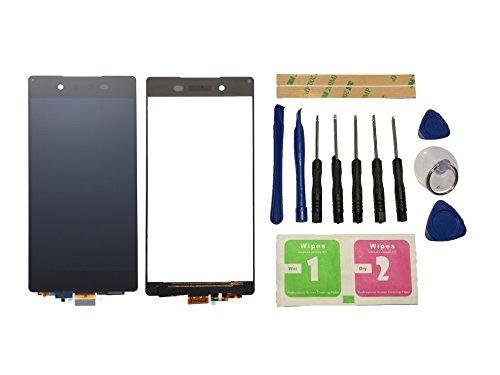 Flügel para Sony Xperia Z4 Z3+ Z3 Plus E6553 E6533 Pantalla LCD pantalla Negro Táctil digitalizador Asamblea Pantalla ( sin marco ) de Recambio & Herramientas