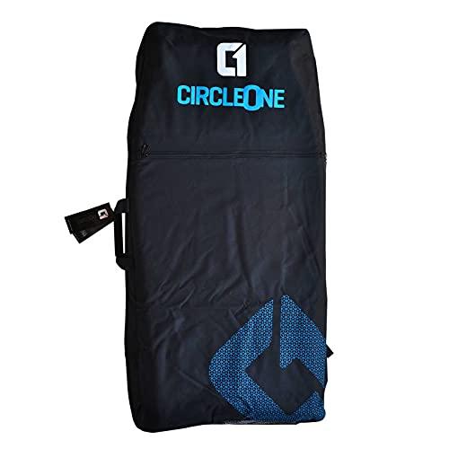 Circle One Bodyboard-Reisetasche (Rucksack-Stil) – für bis zu 3 Boards, Rot