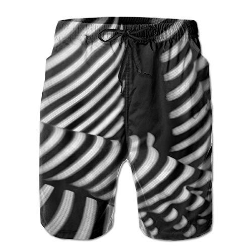 Preisvergleich Produktbild jiger Mens Swim Trunks Summer Cool Quick Dry Board Shorts Bathing Suit, Naked Woman Covered with Shadows, Beach Shorts Swim Trunks