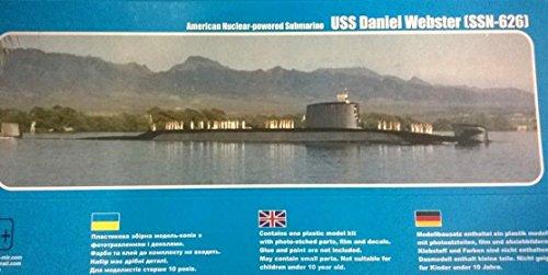USS 'DANIEL WEBSTER' (SSN-626) 1/350 MIKRO-MIR 350-027
