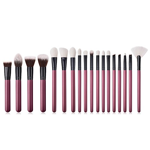 Dosige Kit de Pinceau Maquillage Professionnel Cosmétique Brush 18 Pcs