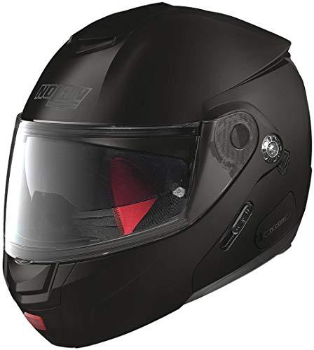Nolan N90-2 Classic N-Com Helm M (58) Schwarz Matt