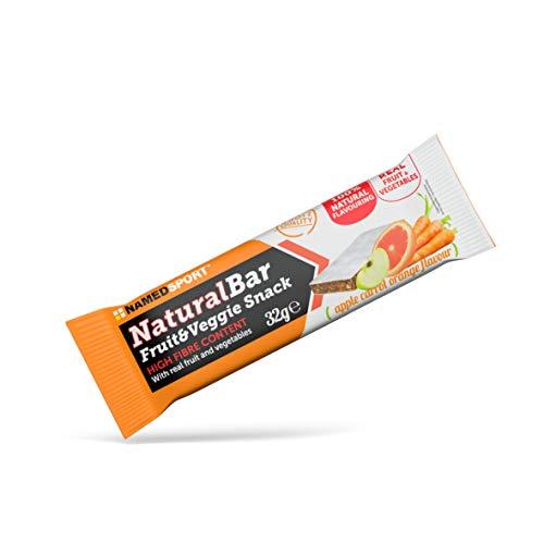 NAMEDSPORT Naturalbar Apple Carrot Orange, 24 Pezzi - 770 Gr